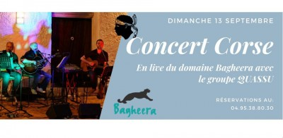 Quassù en concert - Bagheera - Village de vacances - Bravone