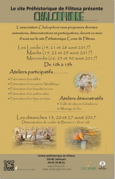Ateliers Démonstratifs et Participatifs sur le Site préhistorique de Filitosa
