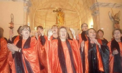Altri Voce accueille le groupe Gospel F(or) Ever