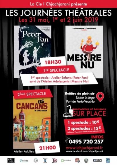 Les Journées Théâtrales 2019 - Cie I Chjachjaroni - Porto-Vecchio