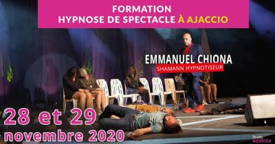 Formation hypnose de spectacle  - SupDesign - Ajaccio
