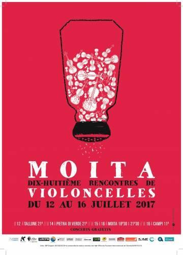18° Edition : Rencontres De Violoncelles De Moïta