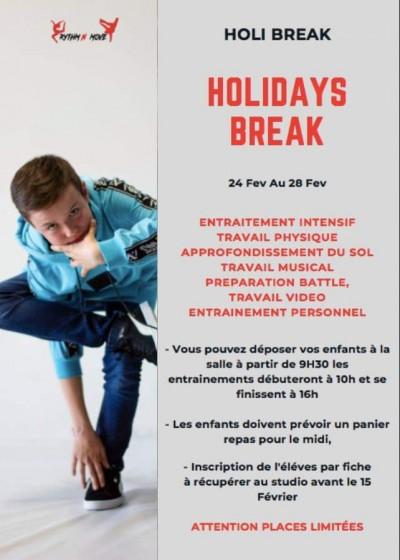 Break Holidays - Studio Rythm'N Move - Lucciana