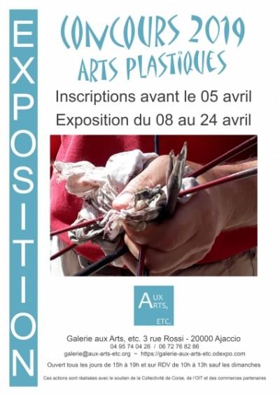 Concours d'arts plastiques - Galerie Aux Arts Etc - Ajaccio