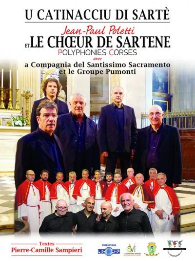 U Catenacciu di Sarte - Jean-Paul Poletti et le Choeur d'Hommes de Sartène -  Eglise Sainte Marie - Sartène