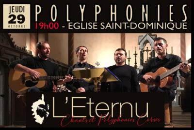 L'Eternu en concert - Église Saint Dominique - Bonifacio
