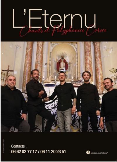 L'Eternu en concert - Eglise Saint Jean-François Régis - Porticcio - Annulé