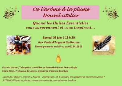 De l'arôme à la plume - Aromathérapie et Aromacologie avec Eliane Talon et Patricia Mariani - L'Île-Rousse