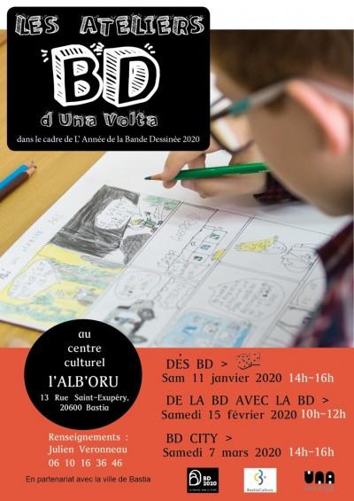 Les ateliers BD - Una Volta - Centre culturel Alb'Oru - Bastia