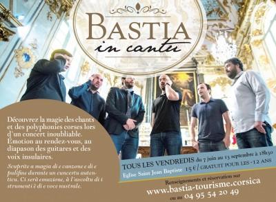 Bastia in cantu - Place Saint Nicolas - Office de tourisme de Bastia