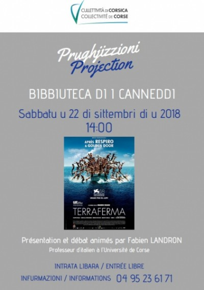 Projection : Terraferma