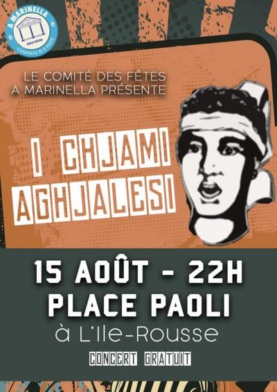 I Chjami Aghjalesi en concert à L'Île-Rousse - Annulé