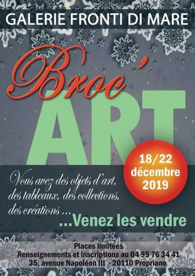 Broc'Art - Galerie Fronti di Mare - Propriano