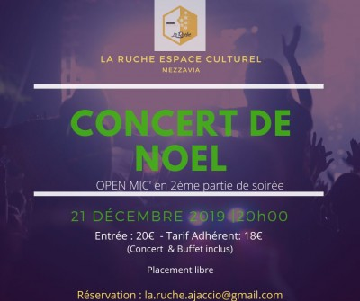 Concert de Noël - La Ruche Espace Culturel - Mezzavia