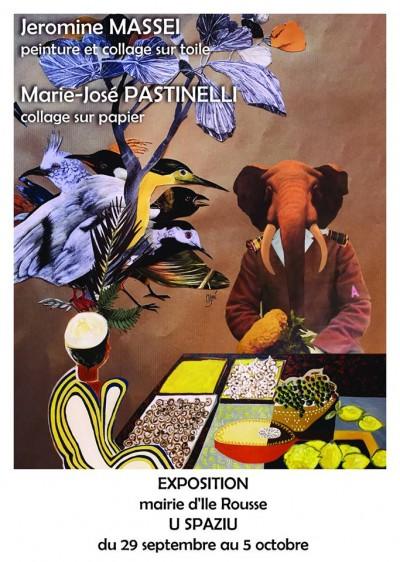 Massei Jeromine & Pastinelli Marie-Josée exposent au Spaziu Pasquale Paoli