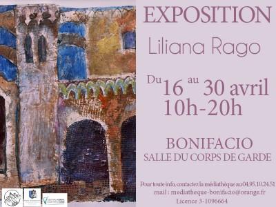 Liliana Rago expose ses oeuvres à Bonifacio