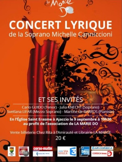 Concert lyrique de Michèle Canniccioni