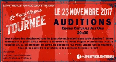 "Auditions Stand-up - Autour De ""le Point Virgule Fait Sa Tournée"""