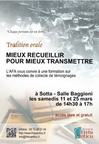 Tradition Orale : Recueil D'informations