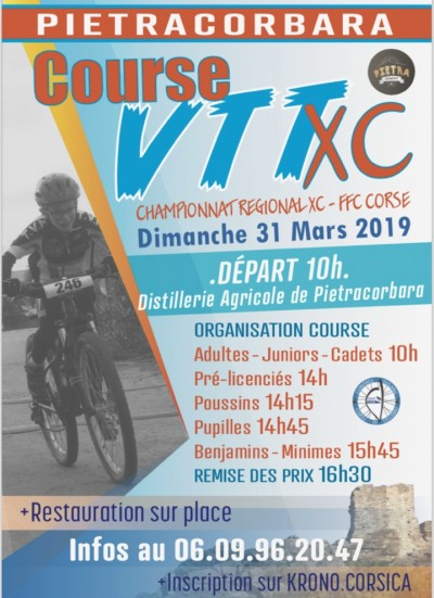Course VTT XC - Pietracorbara