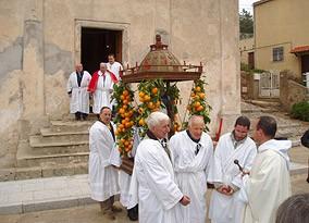 Chants de la Confrérie Sant'Antone - Eglise A Nunziata - Corbara