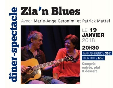 Zia'n Blues - Scenina Diner Spectacle