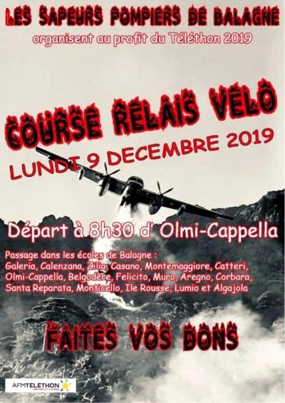 Course Relais Vélo au profit du Téléthon 2019 - Olmi-Capella