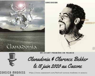 Clarence Bekker - Corsica Madness Festival - Place Miot - Ajaccio