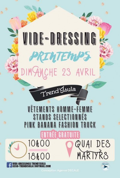 Vide-dressings Trend'isula