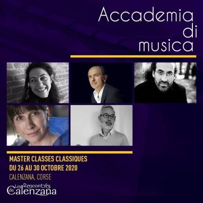 Accademia musique classique - Les Rencontres de Calenzana