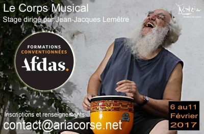 Master Class « Le corps musical »