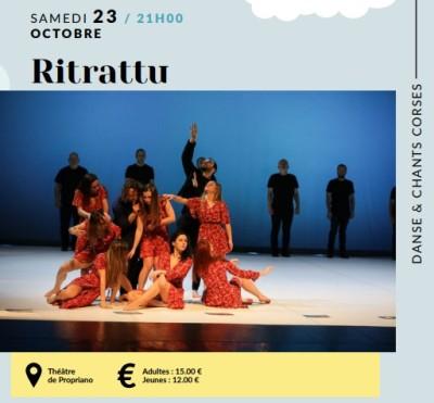 Ritrattu - Studidanza - A Filetta - Théâtre de Propriano
