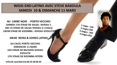 Week End Latino avec Steve Bakoula