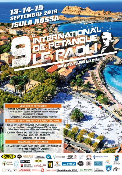 9ème International de Pétanque Le Paoli