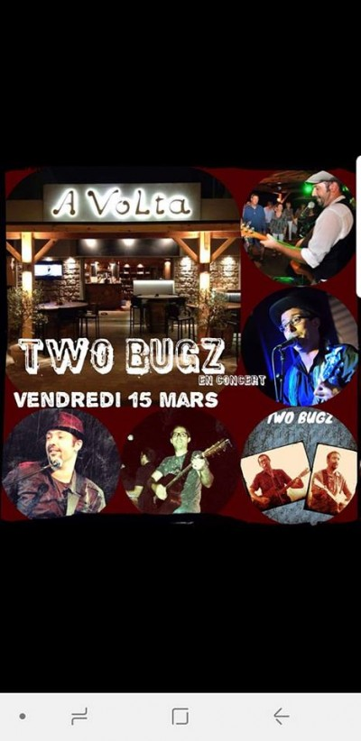 Two BUGZ au Bar à vin A Volta - Ghisonaccia