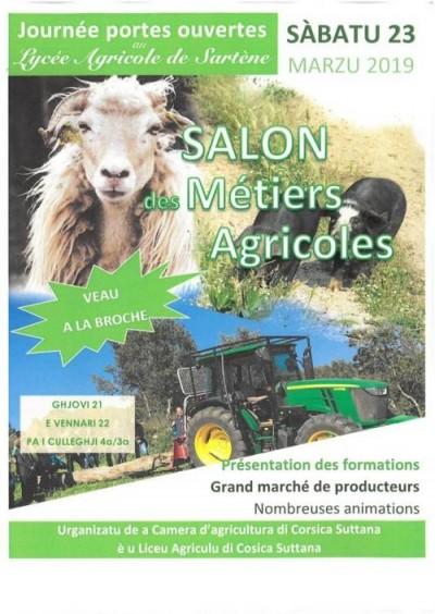 Salon des métiers agricoles - Lycée Agricole de Sartène