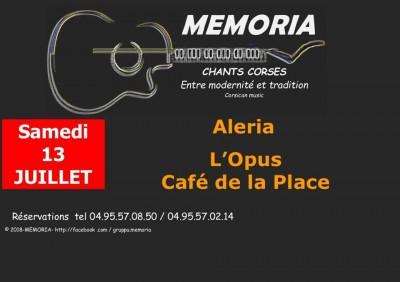 Memoria en concert à Aleria