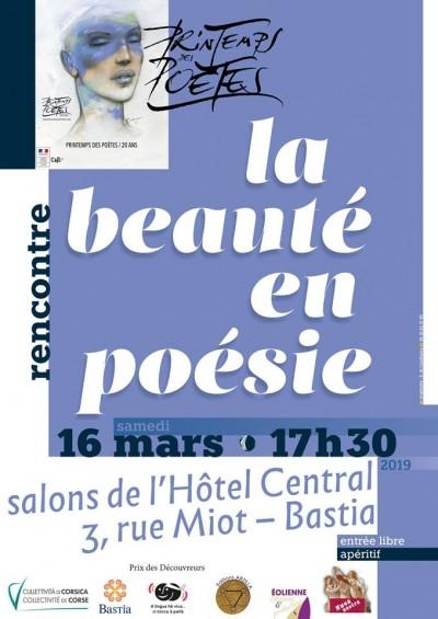 Rencontre - La beauté en poésie - Bastia