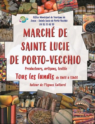 Marché de Sainte Lucie de Porto-Vecchio