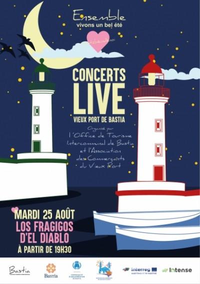 Concert live avec Los Fragigos d'el Diablo - Vieux Port - Bastia