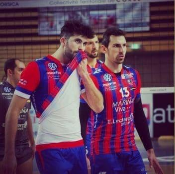 Volley : Ajaccio / Tourcoing