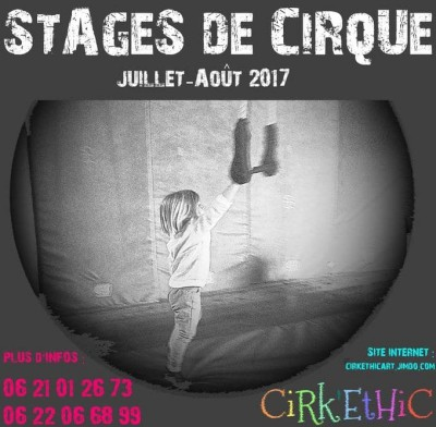 Stages de cirque - Cirk'ethic