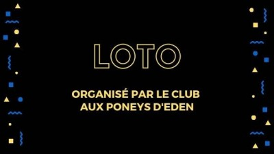 Loto du club Aux Poneys d'Eden - Couvent - Cervioni