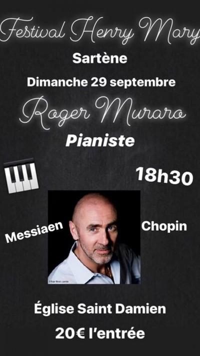 Roger Muraro - Récital - Eglise Saint Damien - Sartène