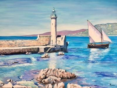 La Mer Vue Par Le Peintre Recco