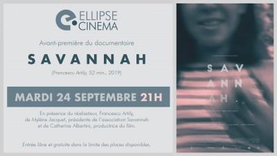 Avant-première - Savannah - Ellipse Cinéma - Ajaccio