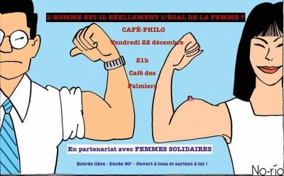 Café Philo : L'homme est-il réellement l'égal de la femme