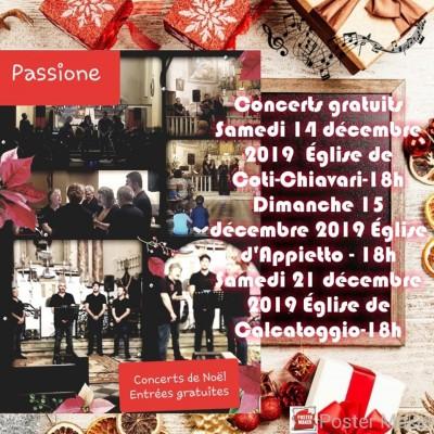 Passione - Concert de Noël - Appietto