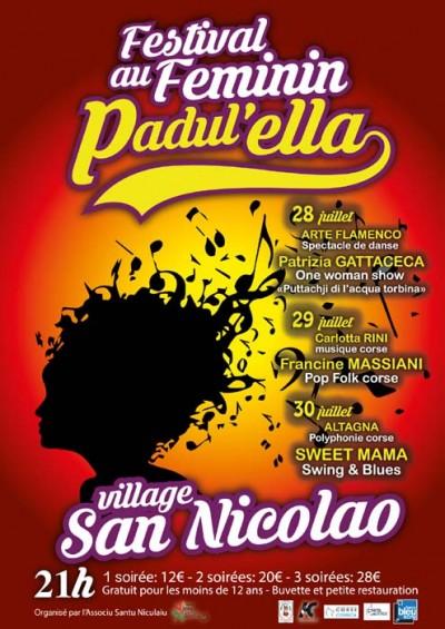 Festival Padul'Ella - Festival féminin