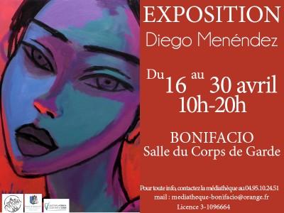 Diego Menéndez expose ses oeuvres à Bonifacio